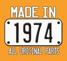 MADE IN 1974 by mcdba