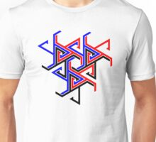 3 Colour Tessellating Tattoo Unisex T-Shirt