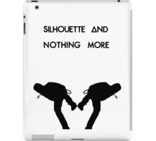 Dan Smith Silhouette (Black on White) iPad Case/Skin