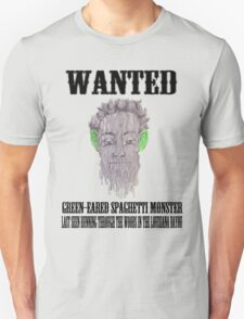True Detective Wanted Poster T-Shirt