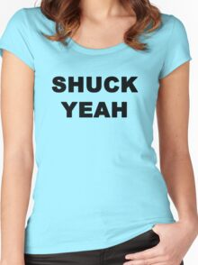 Shuck Yeah Women's Fitted Scoop T-Shirt