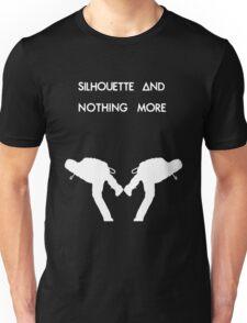 Dan Smith Silhouette (White on Black) Unisex T-Shirt