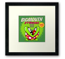 The Smiths 8-bit Project - Bigmouth Strikes Again Framed Print