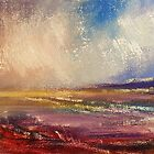 rainy evening on the Inch Beach by Roman Burgan