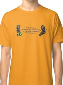 Arrow in the Knee Meme Classic T-Shirt