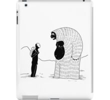 The Inevitable June Yeti iPad Case/Skin