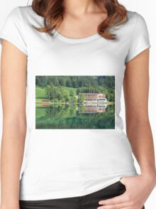 Hintersee, Berchtesgadener Land Women's Fitted Scoop T-Shirt