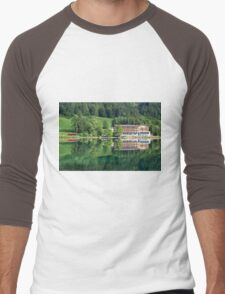 Hintersee, Berchtesgadener Land Men's Baseball ¾ T-Shirt