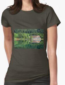 Hintersee, Berchtesgadener Land Womens Fitted T-Shirt