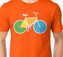 Colorful Bicycle Unisex T-Shirt