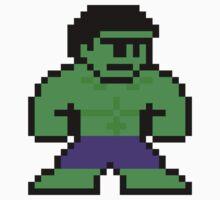 8-bit Incredible Hulk by groundhog7s