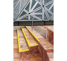 Steps, Federation Square Photographic Print