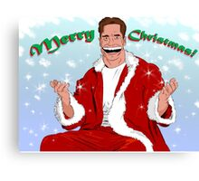 Arnold Christmas Canvas Print