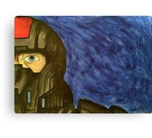 Shepard Mass Effect Tribute Canvas Print