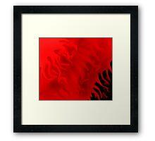 flowing blood Framed Print