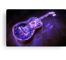 guitar wallpaper Canvas Print
