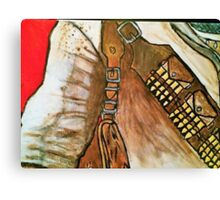 Nathan Drake Uncharted Tribute Canvas Print