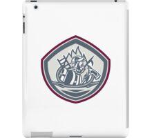 Fireman Axe Hose Hook Pike Pole Shield iPad Case/Skin