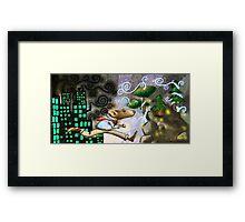 Rat Race Escape Framed Print
