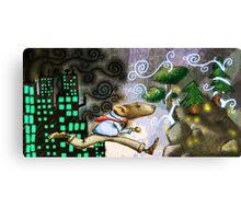 Rat Race Escape Canvas Print