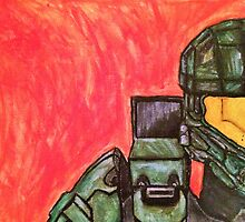 Master Chief Halo Tribute by caitydittman