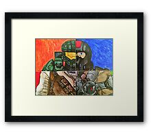 Video Game Tribute Framed Print