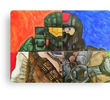 Video Game Tribute Canvas Print