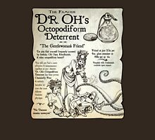 Dr. Oh's Octopodiform Deterrent - Steampunk Tentacles Unisex T-Shirt
