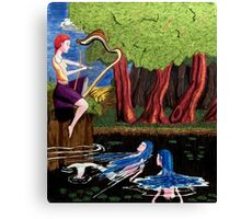 Of Harps and Mermaids Canvas Print