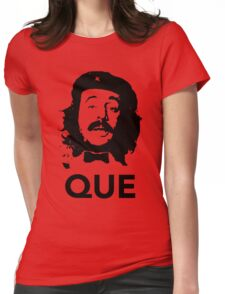 Que guevara Womens Fitted T-Shirt