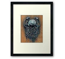 Hard Shelled Jellyfish  Framed Print