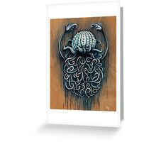 Hard Shelled Jellyfish  Greeting Card