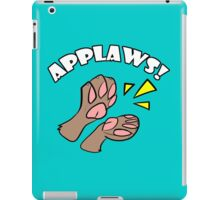 A Round of Applaws! iPad Case/Skin