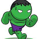 Hulk  by Andrew Han