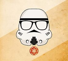Hipster Storm Trooper (Star Wars) by MJ Callaghan