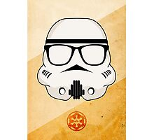Hipster Storm Trooper (Star Wars) Photographic Print