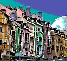 Bratislava, Posterized by phil decocco