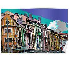 Bratislava, Posterized Poster