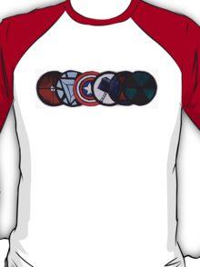 Avenger Badges  T-Shirt