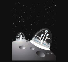 popfuture: moon colony Kids Clothes