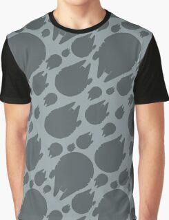 Millennium Falcon Steel Grey Graphic T-Shirt