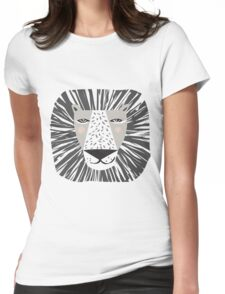 Friendly Lion Womens Fitted T-Shirt