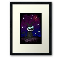 Wicked Kitty Framed Print