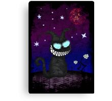 Wicked Kitty Canvas Print