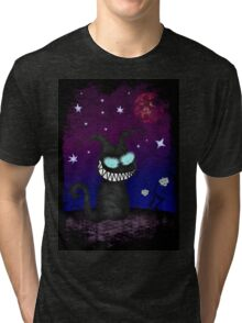 Wicked Kitty Tri-blend T-Shirt