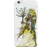 Tree of life in the hand of a queen iPhone Case/Skin