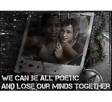 The Last of Us - Left Behind Photographic Print