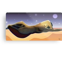 Reclining Figure Metal Print