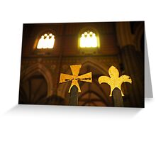 Symbols of the Faith Greeting Card