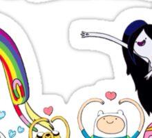 Adventure Time T-Shirt Sticker